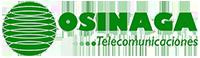 OSINAGA. Operador Global de Voz y Datos Para Empresas. Logo